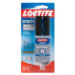 Loctite 8-min Metal & Concrete Epoxy - 0.85 oz