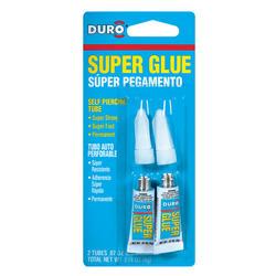 Duro Liquid Super Glue - 2-pk