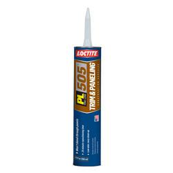 Loctite PL 505 Trim & Paneling Construction Adhesive - 10 oz