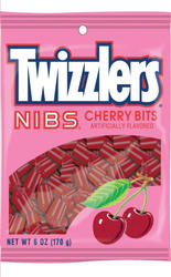 TWIZZLERS® Nibs® Cherry Bits Candy - 6 oz.