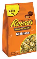 REESE'S® Miniatures Milk Chocolate Peanut Butter Cups - 40 oz.