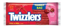 TWIZZLERS® Family Size Cherry Pull 'n' Peel® Candy - 21 oz.