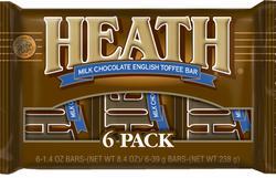 HEATH® Bar - 6 pk.