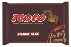 ROLO® Snack Size Chewy Caramels in Milk Chocolate - 9.8 oz.