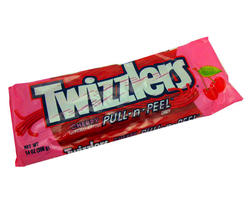 TWIZZLERS® King Size Cherry Pull 'n' Peel® Candy - 4.2 oz.