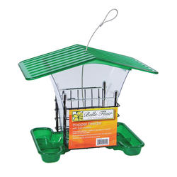 Belle Fleur® Hopper Feeder with Suet Holders