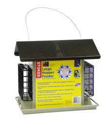 Stokes Select® Large Hopper Feeder with Suet Holders