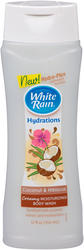 White Rain Coconut and Hubiscus Body Wash - 12 oz.
