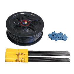 Humane Contain 500' Boundary Extension Wire Flag and Connector Kit