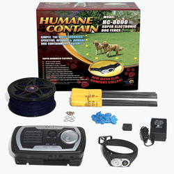 Humane Contain Electronic Dog Fence Ultra System