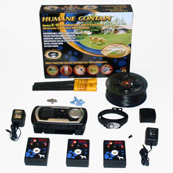 Humane Contain 50 Acre Indoor/Outdoor Rechargeable Electronic Multi-Dog Fence
