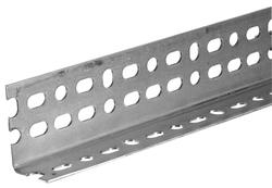 Plated Steel Angle 2-1/4 x 1-1/2 x 4 ft. - 14 Gauge
