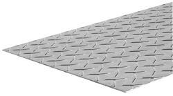 "Weldable Steel Tread Plate 12"" x 24"" - 14 Gauge"