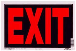 "8 x 12"" Exit Sign"