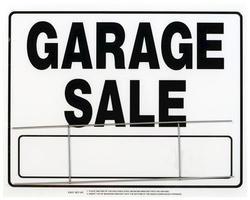 """20 x 24"""" Garage Sale Sign"""