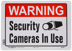 """10 x 14"""" Security Camera In Use"""