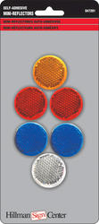 "1-1/4"" Mini Driveway Reflectors Pack of 6"