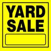 """11 x 11"""" Yard Sale Sign"""