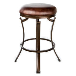 Designer's Image™ Kelford Counter Height Backless Swiveling Metal Stool