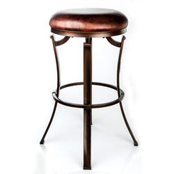 Designer's Image™ Kelford Bar Height Backless Swiveling Metal Stool