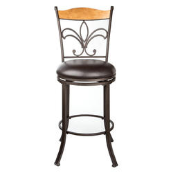 Designer's Image™ Marseille Counter Height Swiveling Metal Stool