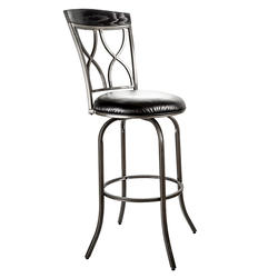 Designer's Image™ Watkins Bar Height Swiveling Metal Stool