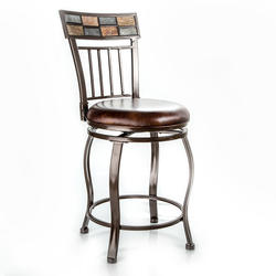 Designer's Image™ Grayson Counter Height Swiveling Metal Stool