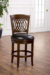 "Vienna 24"" Seat Height Swivel Counter Stool"