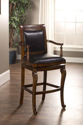 "Douglas 30"" Seat Height Wood Bar Stool"