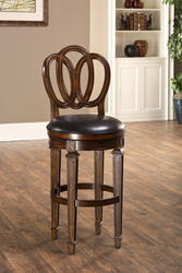 "Dover 30"" Seat Height Bar Stool with Leather Seat"
