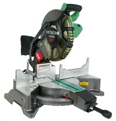 Hitachi® 12 in. Single Bevel Compound Miter Saw with Laser
