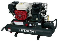Hitachi® 8-Gallon Gas-Powered Wheelbarrow Compressor