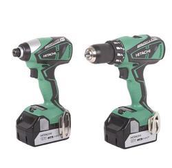 Hitachi® 18-Volt Cordless Brushless 2-Tool Combo Kit