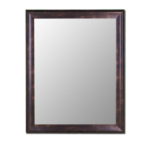 Hitchcock Butterfield 30 X 42 Espresso Walnut Framed Wall Mirror