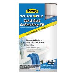Homax Tough As Tile White Tub & Sink Refinishing Kit - 32 oz