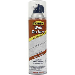 Homax Water-Based Knockdown Wall Texture Spray - 20 oz