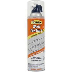 Homax Water-Based Orange Peel Wall Texture Spray - 20 oz