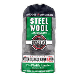Homax #2 Medium Coarse Steel Wool