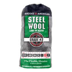 Homax #2 Medium Coarse Steel Wool