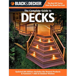 Black & Decker Complete Guide To Decks (3Rd Ed)