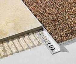 """Homelux Square Edge Tile Trim - Aluminum 1/4"""" x 96"""""""