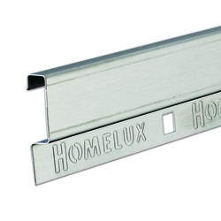 "Homelux Decorative Luxury Tile Strip - Steel 72"""