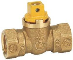 "Homewerks 1/2"" FIP Gas Valve with Square Head"