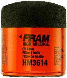 PH3614 FRAM High Mileage Oil Filter