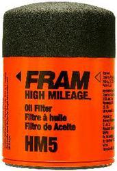 PH5 FRAM High Mileage Oil Filter