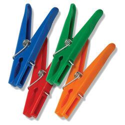 24 count plastic clothespins