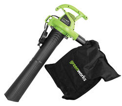 GreenWorks 12-Amp Electric Blower Vac Mulcher