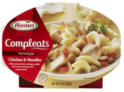 Hormel Compleats Homestyle Chicken and Noodles - 10-oz Microwave Bowl