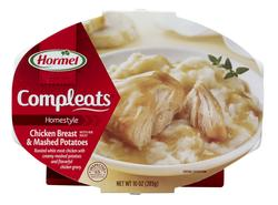 Hormel Compleats Homestyle Chicken Breast and Mashed Potatoes - 10-oz Microwave Bowl