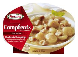 Hormel Compleats Homestyle Chicken and Dumplings - 10-oz Microwave Bowl